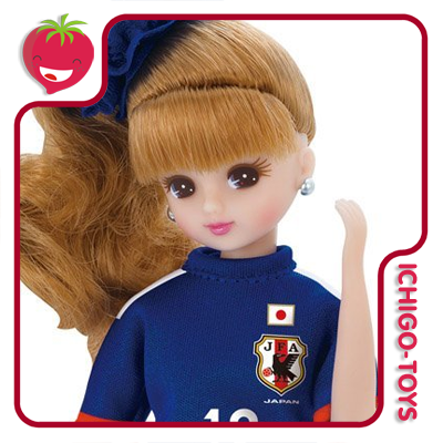 Licca-chan Japan National Team Model 2014    - Ichigo-Toys Colecionáveis