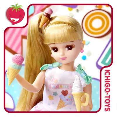 Licca-chan LD-06 - Popn Ice Cream   - Ichigo-Toys Colecionáveis