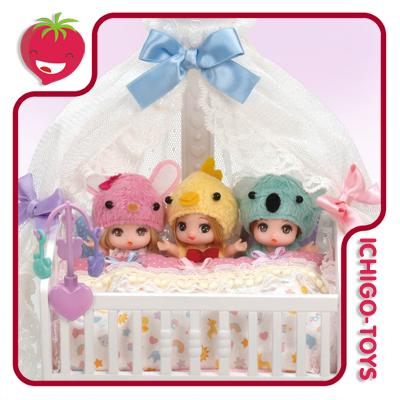 Licca-chan - LF-09 Baby Bed  - Ichigo-Toys Colecionáveis