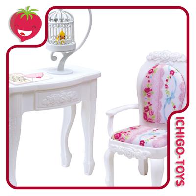 Licca-chan LF-12 Princess Chair And Table  - Ichigo-Toys Colecionáveis