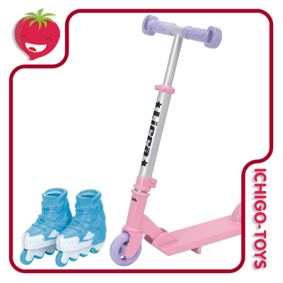 Licca-chan LG-11 - Pretty Sport Set  - Ichigo-Toys Colecionáveis