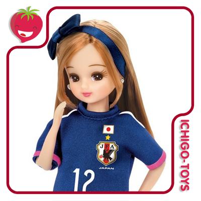 Licca-chan Nadeshiko Japan Model Soccer 2015  - Ichigo-Toys Colecionáveis