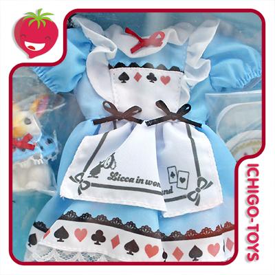 Licca-chan Outfit LW-14 Licca-chan In Wonderland  - Ichigo-Toys Colecionáveis