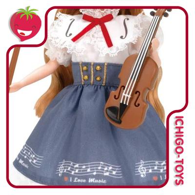 Licca-chan Outfit LW-19 - Violin Lesson  - Ichigo-Toys Colecionáveis