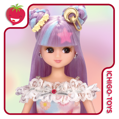 Licca-chan Yumeiro Licca-chan Colorful Change  - Ichigo-Toys Colecionáveis