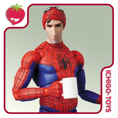 Mafex 109 - Peter B. Parker - Spider-Man into the Spider-Verse  - Ichigo-Toys Colecionáveis