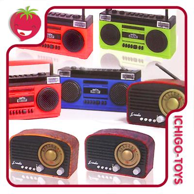 Mini Radio Boombox Mascot vol.3 - 1/6  - Ichigo-Toys Colecionáveis