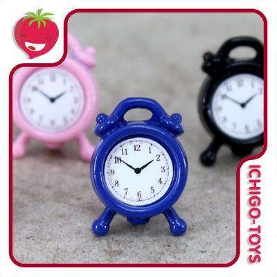 Mini Relógio Despertador 1/12  - Ichigo-Toys Colecionáveis
