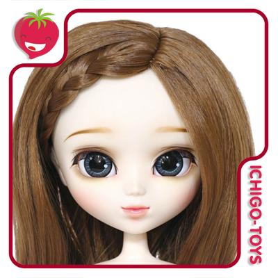 MIO - Peruca 003 - Brown French Braids  - Ichigo-Toys Colecionáveis