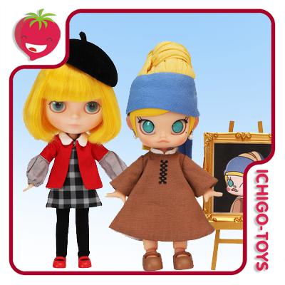 Molly x Blythe Little Painter Set  - Ichigo-Toys Colecionáveis