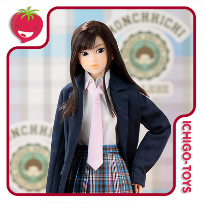 Momoko Doll Monchhichi High Scool Love  - Ichigo-Toys Colecionáveis