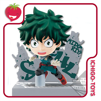 My Hero Academia - Kyun Chara - Izuku Midoriya   - Ichigo-Toys Colecionáveis
