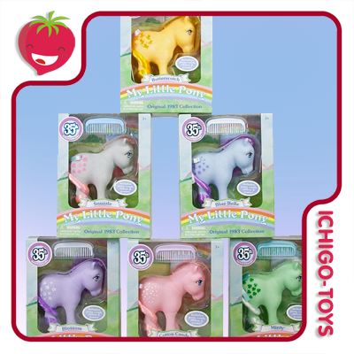 My Little Pony - 1983 Retro Collection - 35th Anniversary - avulsos!  - Ichigo-Toys Colecionáveis