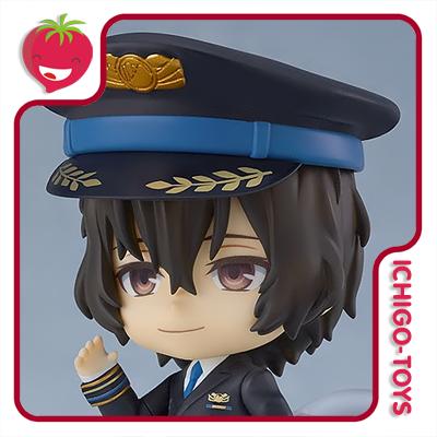 Nendoroid 1414 Goodsmile Online Shop Exclusive - Osamu Dazai Airport Ver - Bungo Stray Dogs: Airport  - Ichigo-Toys Colecionáveis