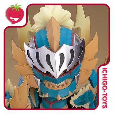 Nendoroid 1421-DX - Hunter Male Zinogre Alpha Armor DX - Monster Hunter World: Iceborn  - Ichigo-Toys Colecionáveis