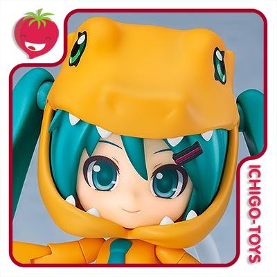Nendoroid 1439 - Hatsune Miku: Kigurumi Agumon - Hatsune Miku x Digimon Adventure