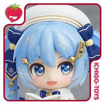 Nendoroid 1539 WonHobby 32 Exclusive - Snow Miku Glowing Snow - Vocaloid  - Ichigo-Toys Colecionáveis