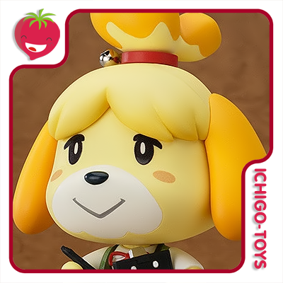 Nendoroid 327 - Shizue (Isabelle) - Animal Crossing  - Ichigo-Toys Colecionáveis
