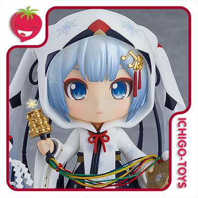 Nendoroid 850 Wonder Festival 2018 - Snow Miku Crane Priestess - Vocaloid  - Ichigo-Toys Colecionáveis