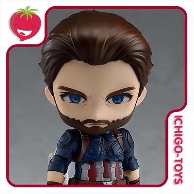 Nendoroid 923 - Captain America Infinity Edition - Avengers: Infinity War  - Ichigo-Toys Colecionáveis