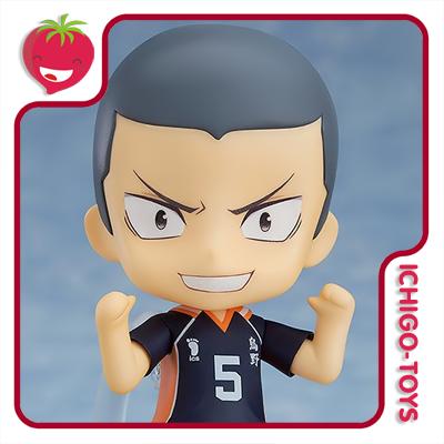 Nendoroid 945b - Ryunosuke Tanaka & Yu Nishinoya Extra Parts Set - Haikyu  - Ichigo-Toys Colecionáveis