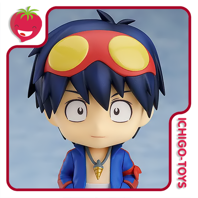 Nendoroid 986 - Simon - Tengen Toppa Gurren Lagann  - Ichigo-Toys Colecionáveis