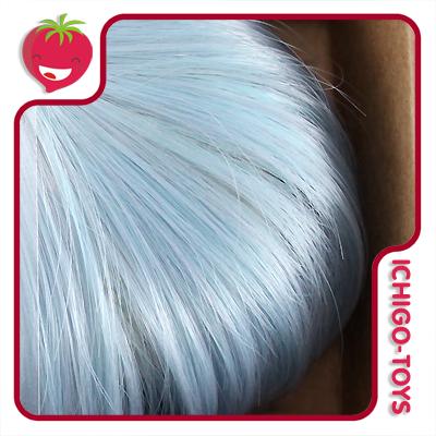 Peruca 8 - Mini Mui-chan - Pastel Turquoise Blue (serve em Pullip/Dal)  - Ichigo-Toys Colecionáveis