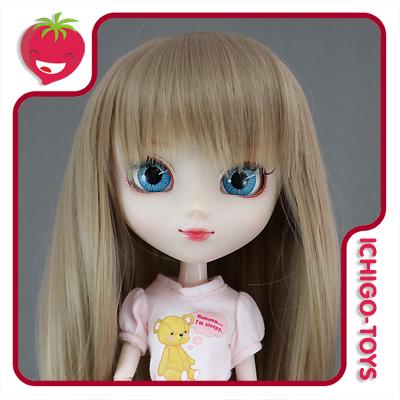 Peruca For My Doll 1090 - Bronze Beige  9-10 - Pullip/Dal/Byul/Tae/Isul  - Ichigo-Toys Colecionáveis