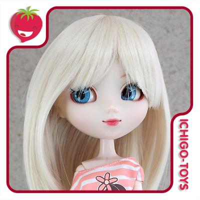 Peruca For My Doll 1090 - Cream Blond 9-10 - Pullip/Dal/Byul/Tae/Isul  - Ichigo-Toys Colecionáveis