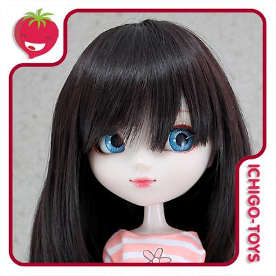 Peruca For My Doll 1090 - Mild Black 9-10 - Pullip/Dal/Byul/Tae/Isul  - Ichigo-Toys Colecionáveis