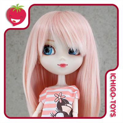 Peruca For My Doll 1090 - Pink Cream 9-10 - Pullip/Dal/Byul/Tae/Isul  - Ichigo-Toys Colecionáveis