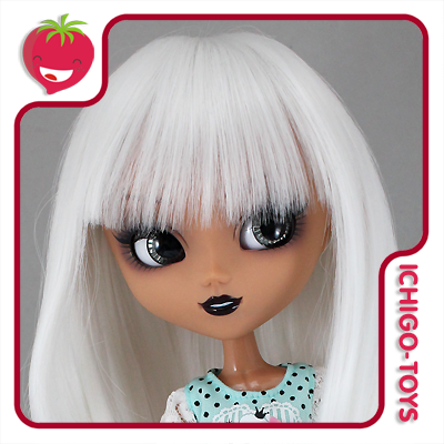 Peruca For My Doll 1090 - Sweet Milk 9-10 - Pullip/Dal/Byul/Tae/Isul  - Ichigo-Toys Colecionáveis