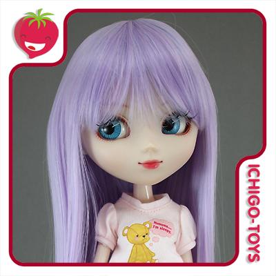 Peruca For My Doll 1093 - Light Lavender  9-10 - Pullip/Dal/Byul/Tae/Isul  - Ichigo-Toys Colecionáveis