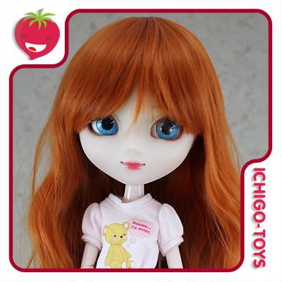 Peruca For My Doll 1095 - Sweet Carrot  9-10 - Pullip/Dal/Byul/Tae/Isul  - Ichigo-Toys Colecionáveis