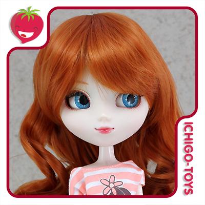 Peruca For My Doll 1120 - Sweet Carrot 9-10 - Pullip/Dal/Byul/Tae/Isul  - Ichigo-Toys Colecionáveis
