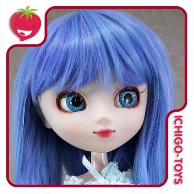 Peruca HR MIX 21 (2 tons de azul) -  8-9 Pullip/Dal/Byul/Tae/Isul  - Ichigo-Toys Colecionáveis