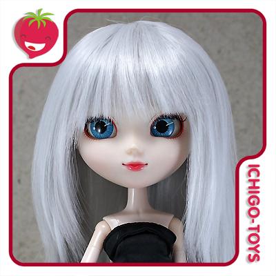 Peruca HR Silvergrey -  8-9 Pullip/Dal/Byul/Tae/Isul  - Ichigo-Toys Colecionáveis