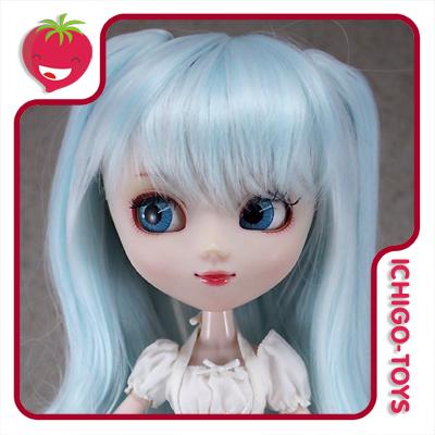 Peruca Leeke Mixroll Whisper Blue + Snow White- Pullip/Dal/Byul/Tae/Isul  - Ichigo-Toys Colecionáveis
