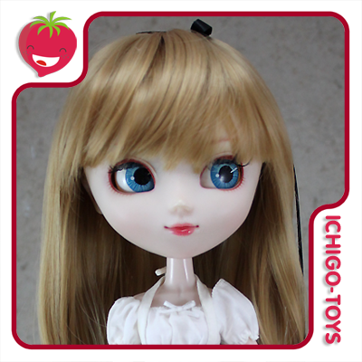 Peruca Leeke MR-146 Sandy Brown - Pullip/Dal/Byul/Tae/Isul  - Ichigo-Toys Colecionáveis