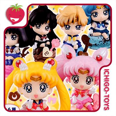 Petit Chara Land - Sailor Moon Ice Cream Party - Avulsos!  - Ichigo-Toys Colecionáveis