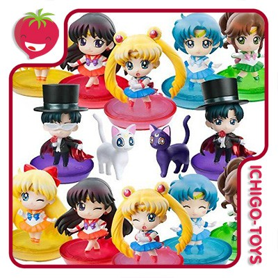 Petit Chara! Sailor Moon Vol.1 - A - Coleção Completa!  - Ichigo-Toys Colecionáveis
