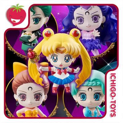 Petit Chara! Black Moon Ayakashi Sisters - Limited Edition - Sailor Moon  - Ichigo-Toys Colecionáveis