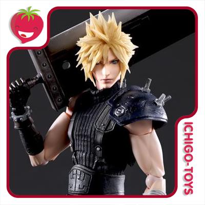 Play Arts Kai - Cloud Strife - Final Fantasy VII Remake  - Ichigo-Toys Colecionáveis