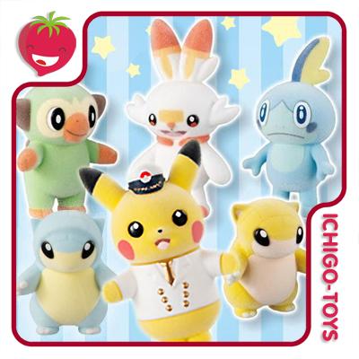Pokémon Pokemofu Doll Vol.5 - coleção completa ou avulsos!  - Ichigo-Toys Colecionáveis