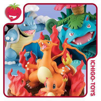 Pokemon Vignette Field - Diorama Collection  - Ichigo-Toys Colecionáveis