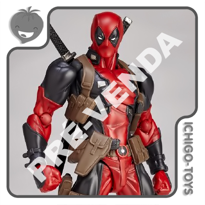 PRÉ-VENDA (04/08/2018) Revoltech Amazing Yamaguchi 001 - Deadpool - Deadpool  - Ichigo-Toys Colecionáveis