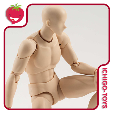 S.H. Figuarts - Body-kun Pale Orange Color Version  - Ichigo-Toys Colecionáveis