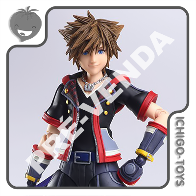 PRÉ-VENDA 30/09/2021 (VALOR TOTAL R$ 728,00 - 10% PARA RESERVA*) Bring Arts - Sora Version 2 - Kingdom Hearts  - Ichigo-Toys Colecionáveis