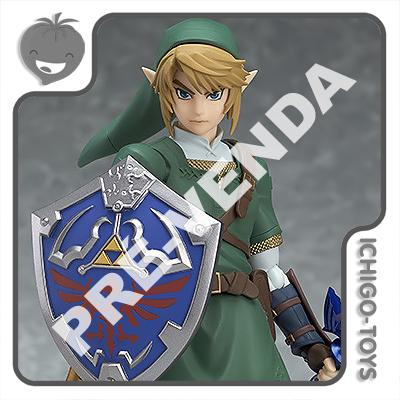 PRÉ-VENDA 28/02/2021 (VALOR TOTAL R$ 646,00 - 10% PARA RESERVA*) Figma 320 - Link DX Edition - The Legend of Zelda: Twilight Princess  - Ichigo-Toys Colecionáveis