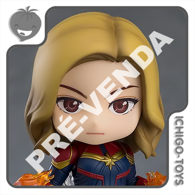 PRÉ-VENDA 28/02/2021 (VALOR TOTAL R$ 626,00 - 10% PARA RESERVA*) Nendoroid 1154-DX - Captain Marvel Hero